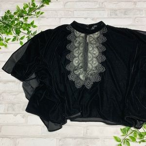 Gorgeous ZARA Velvet Top